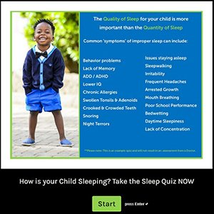 How is your child sleeping? Take the Quiz!